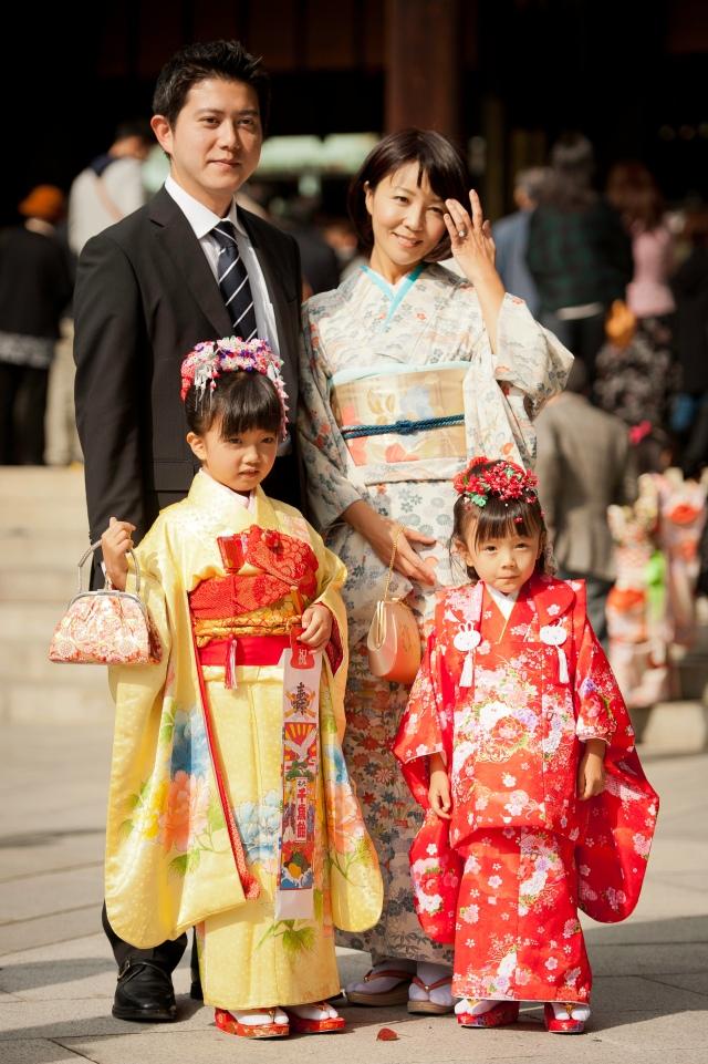 Shichi Go San - Family Portrait