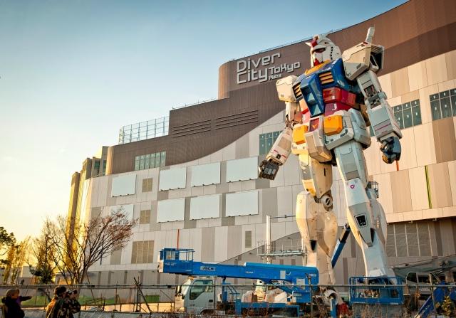 Tokyo Diver City construction site