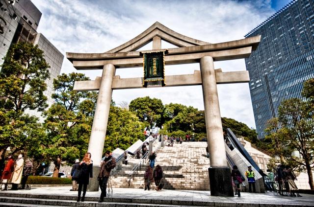 Hie Jinja entrance