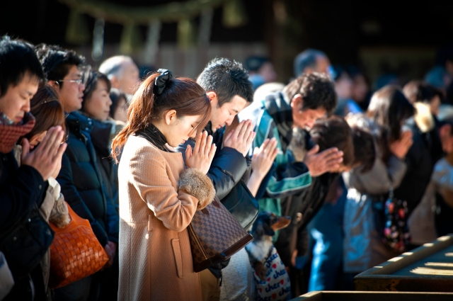 Coming of Age Day at Meiji Jingu