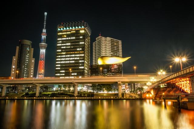 Tokyo Sky Tree Christmas Illuminations