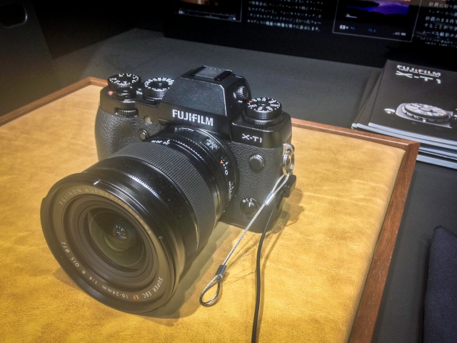 Fuji X-T1 with the upcoming XF10-24mm f4 wide-angle zoom